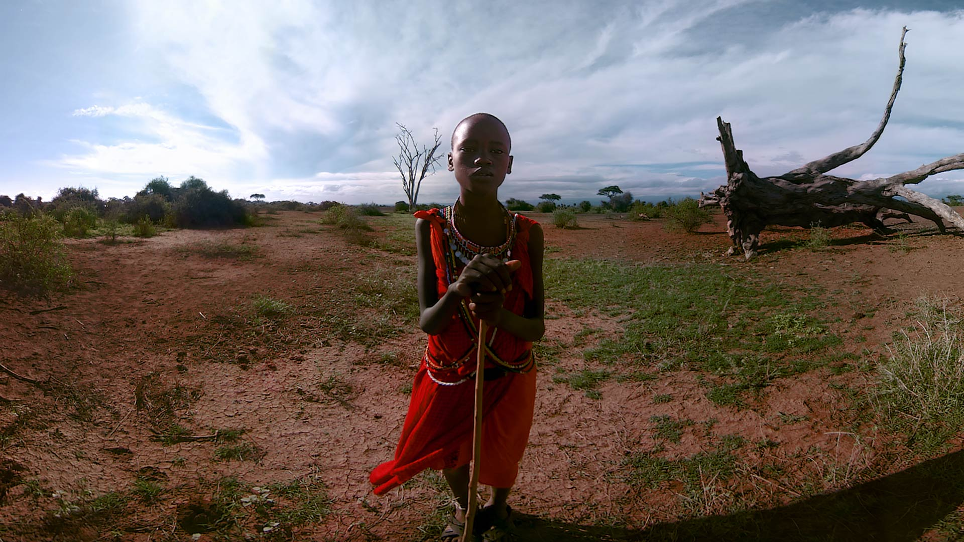 Still from Nomads: Maasai