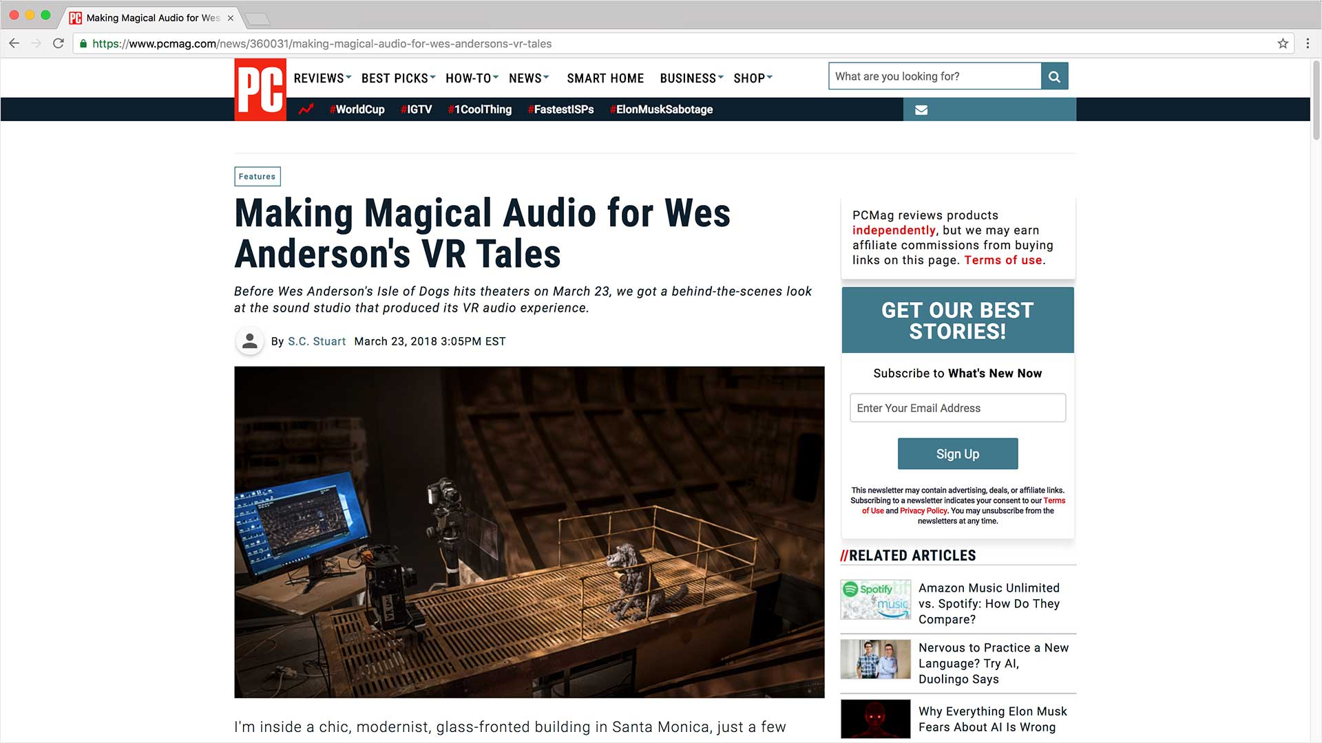 PC Mag article screen grab