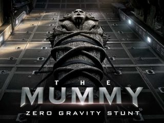The Mummy Zero Gravity Stunt