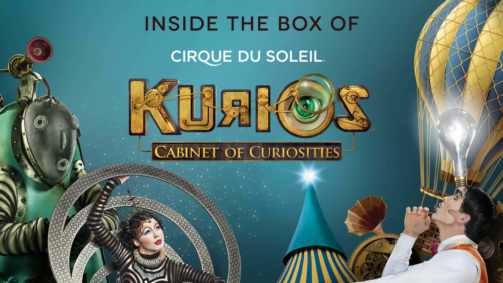 Cirque du Soleil: Inside the Box of KURIOS poster