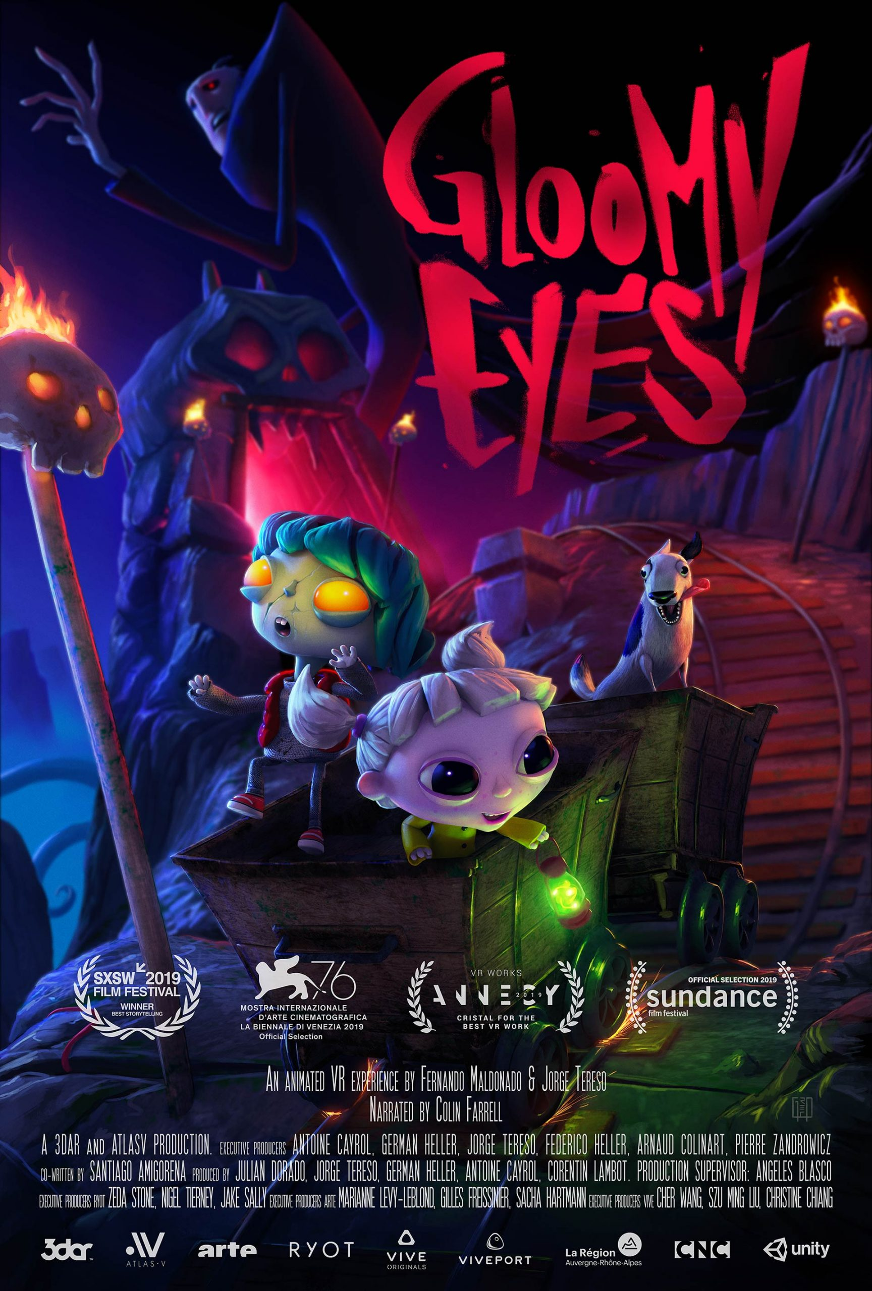 Gloomy Eyes, Vol.2 Poster